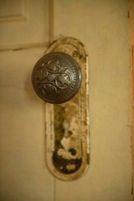 Photo: An old door knob near Dunbar, Nebraska.