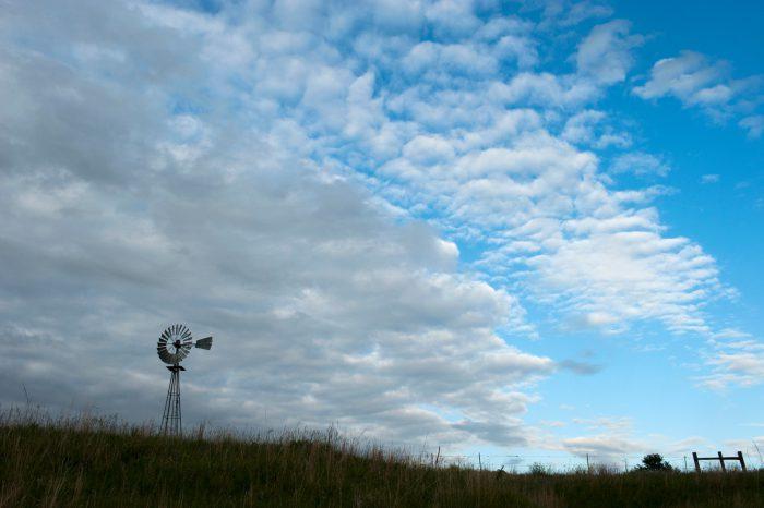 Photo: A windmill in rural Nebraska.