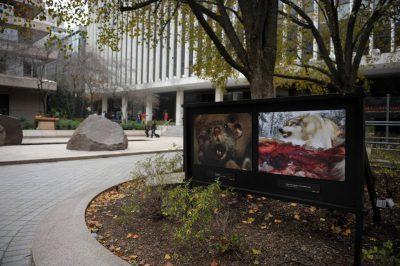 Photo: Outside the headquarters of the National Geographic Society in Washington D.C.