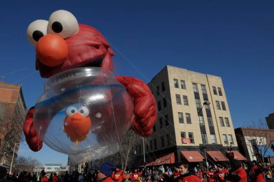Photo: A float passes during the Star City Holiday Parade in Lincoln, Nebraska