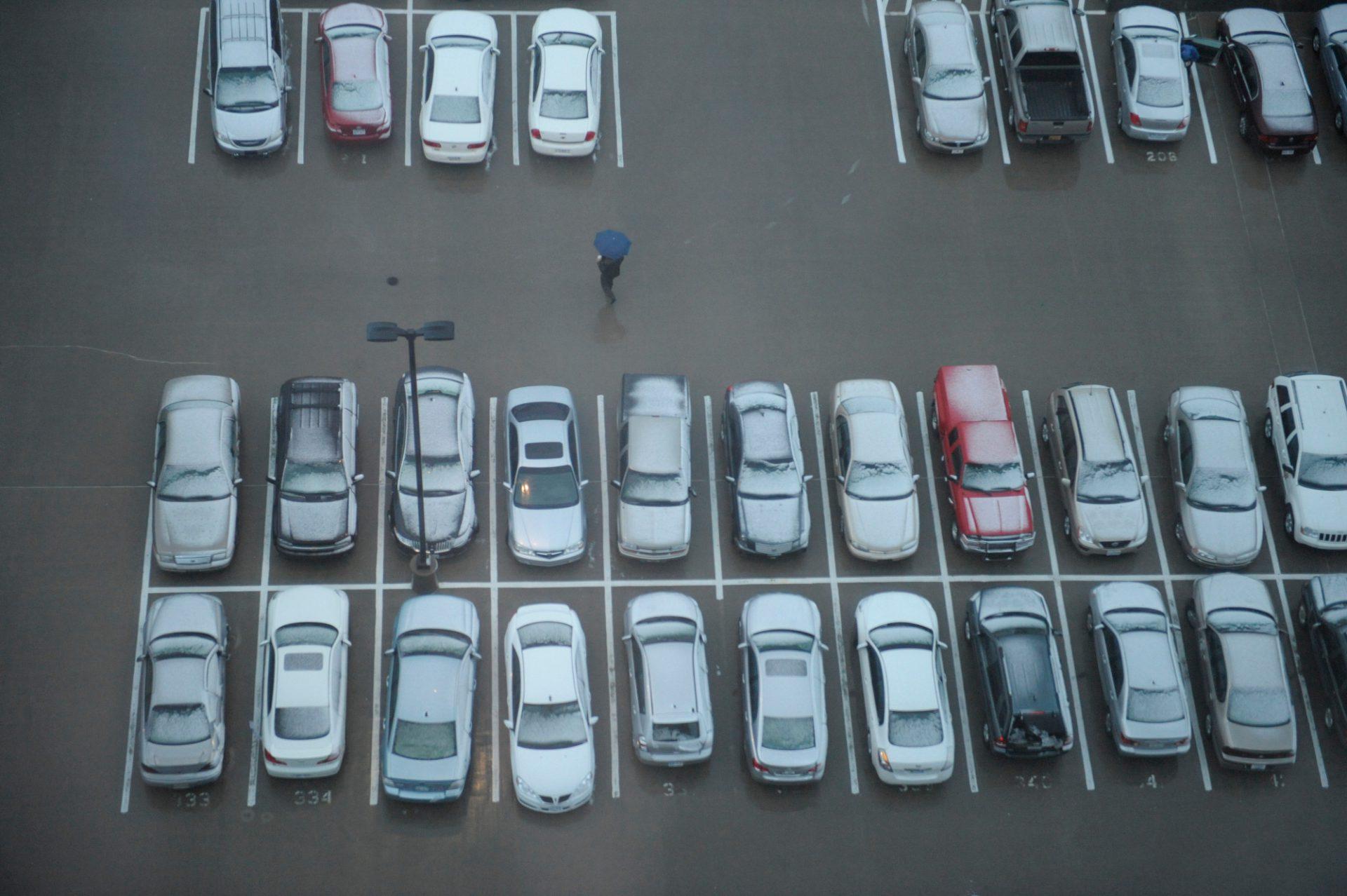 Photo: Parking lot, Kansas City, Kansas.