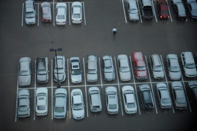 Photo: Parking lot, Kansas City, Kansas.