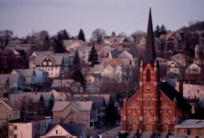 Photo: Waterbury, Connecticut.