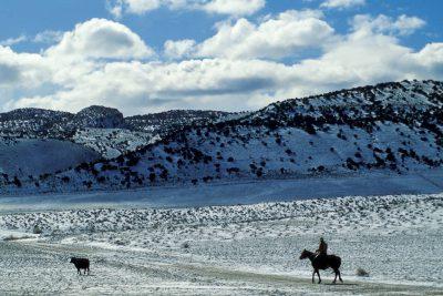 Photo: The Broadbent Ranch near Manila, Utah.
