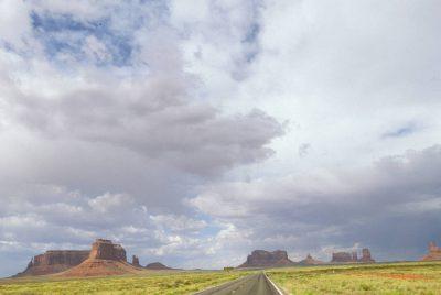Photo: Monument Valley, (Arizona).