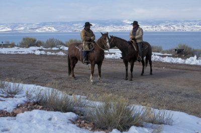 Photo: The Johnson Ranch (on and near the shores of Bear Lake) near Laketown, Utah.