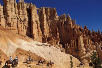 Photo: Horseback riding in Bryce Canyon, Utah.