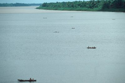 Photo: The Amazon River (Brazil).