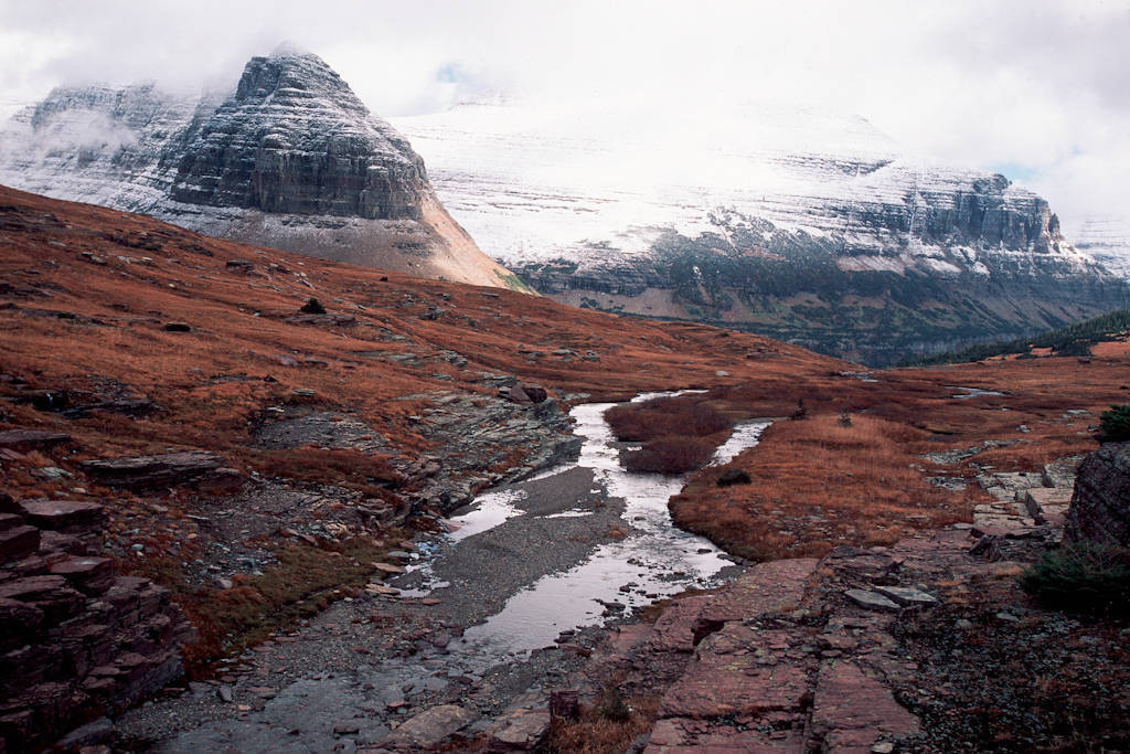 Photo: Scenic from Glacier National Park.