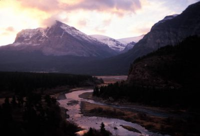 Photo: Scenic from Glacier National Park, Montana.