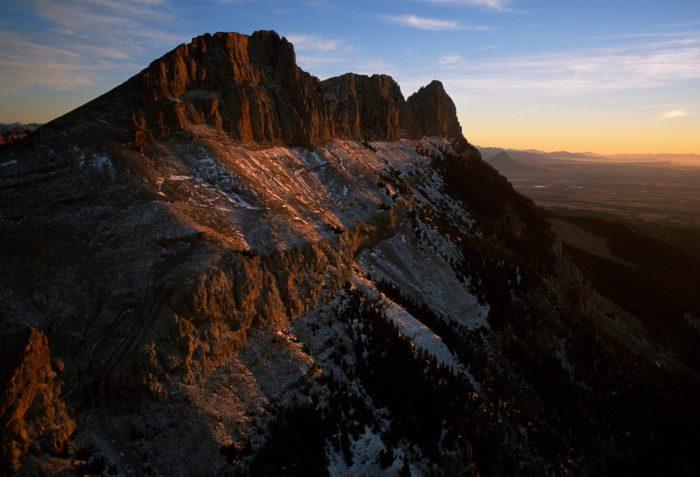 Photo: Scene from Glacier National Park, Montana.