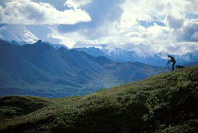 Photo: A photographer captures breath taking views in Alaska's Denali National Park.