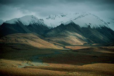 Photo: Denali National Park in Alaska's interior.