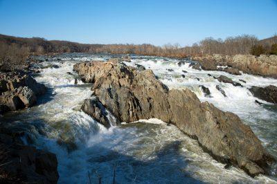 Photo: Great Falls National Park, Virginia.