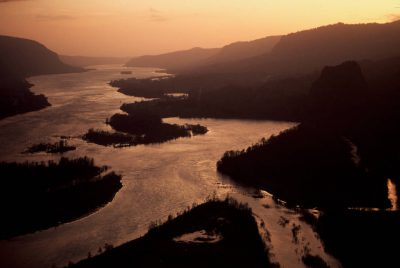 Photo: The Columbia River.