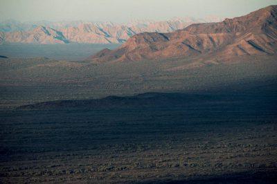 Photo: Landscape from Cabeza Prieta NWR, Arizona.