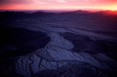 Photo: The Pinacate lava flow on the western edge of Cabeza PrietaNWR, Arizona.