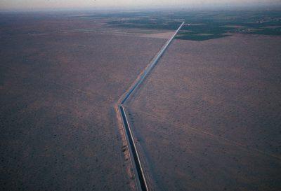 Photo: The range on the outskirts of the Cabeza Prieta NWR in Arizona, shown at sunrise.