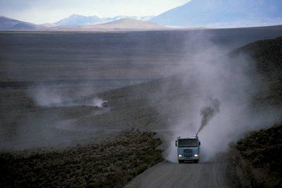 Photo: Road shot from the Atacama Desert in Chile.