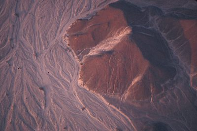 Photo: The Nazca Lines in the Peruvian portion of the Atcama Desert.