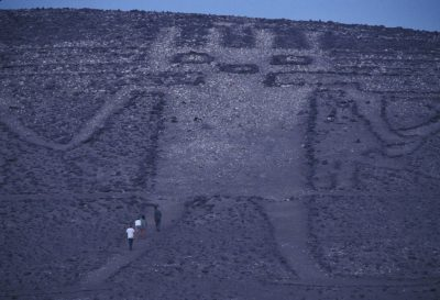 Photo: El Gigante, a geoglyph near Iquique, Chile.