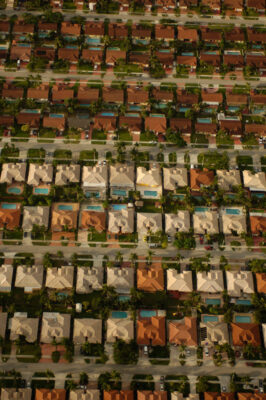 Photo: An aerial view of Naples, Florida.
