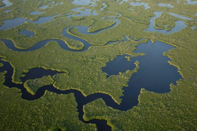Photo: Aerials of Everglades National Park in the 10,000 Islands area on the park's west side near Naples.