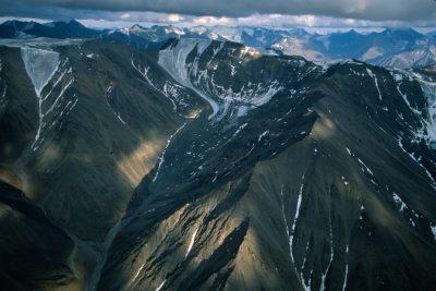 Photo: The Brooks Range, inside the Arctic National Wildlife Refuge in Alaska.