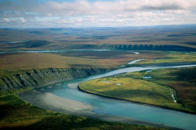 Photo: Landscape in the Lisburne Peninsula area of the North Slope of Alaska.
