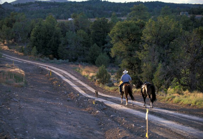 Photo: The scenic Blancett Ranch in the San Juan Basin near Aztec, New Mexico