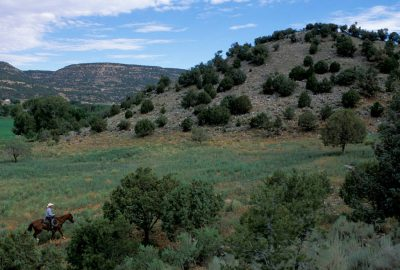 Photo: The scenic Blancett Ranch in the San Juan Basin near Aztec, New Mexico