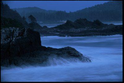 Photo: Waves wash ashore