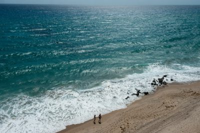Photo: The Atlantic Ocean off the Florida Coast.
