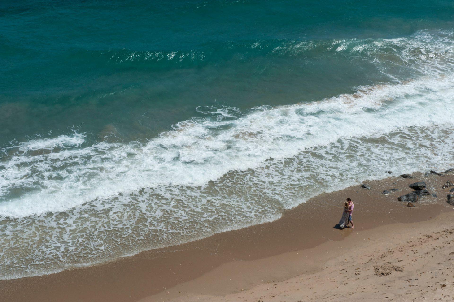 Photo: The Atlantic Ocean off the Florida Coast.