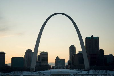 Photo: The St. Louis Arch.