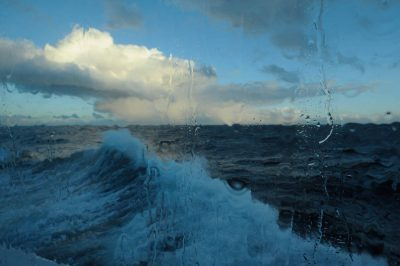Photo: Scenes of the sea near Argentina on board the National Geographic Endeavor.