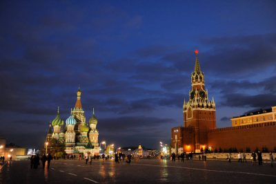 Photo: Scenes from Red Square in Moscow, Russia.