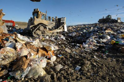 Photo: The Lincoln, Nebraska landfill.