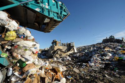 Photo: The Lincoln, Nebraska landfill.
