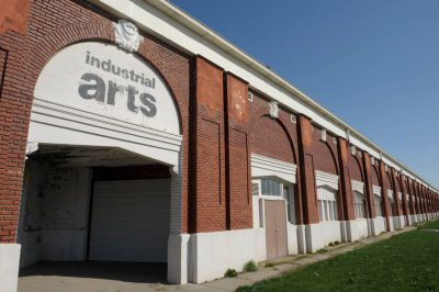 Photo: The Industrial Arts Building at the former state fairgrounds in Lincoln, Nebraska.