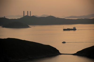 Photo: A scene of Hong Kong shot from Ocean Park, Hong Kong, China.