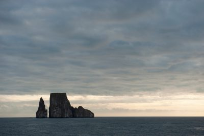 Photo: Kicker Rock, on the edge of San Cristobal Island in Galapagos National Park.