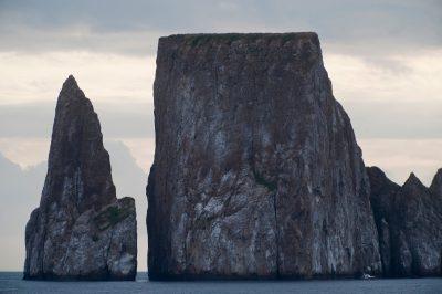 Photo: Kicker Rock, on the edge of San Cristobal Island in Galapagos National Park.