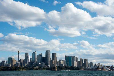Photo: Sydney Harbor including the Sydney Opera House.