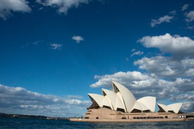 Photo: The Sydney Opera House, Australia.