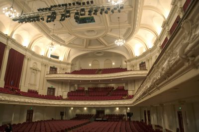 Photo: Town Hall in Auckland, New Zealand.