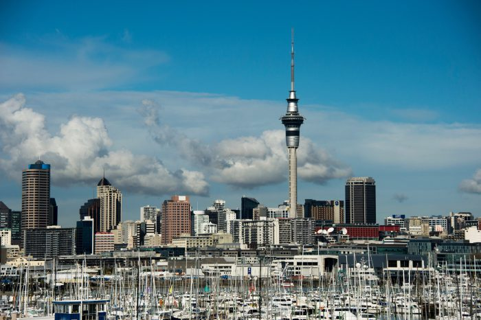 Photo: A scene from Auckland, New Zealand.