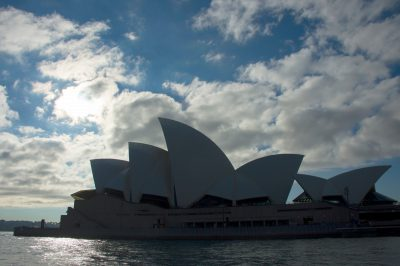 Photo: The Sydney Opera House, Australia.