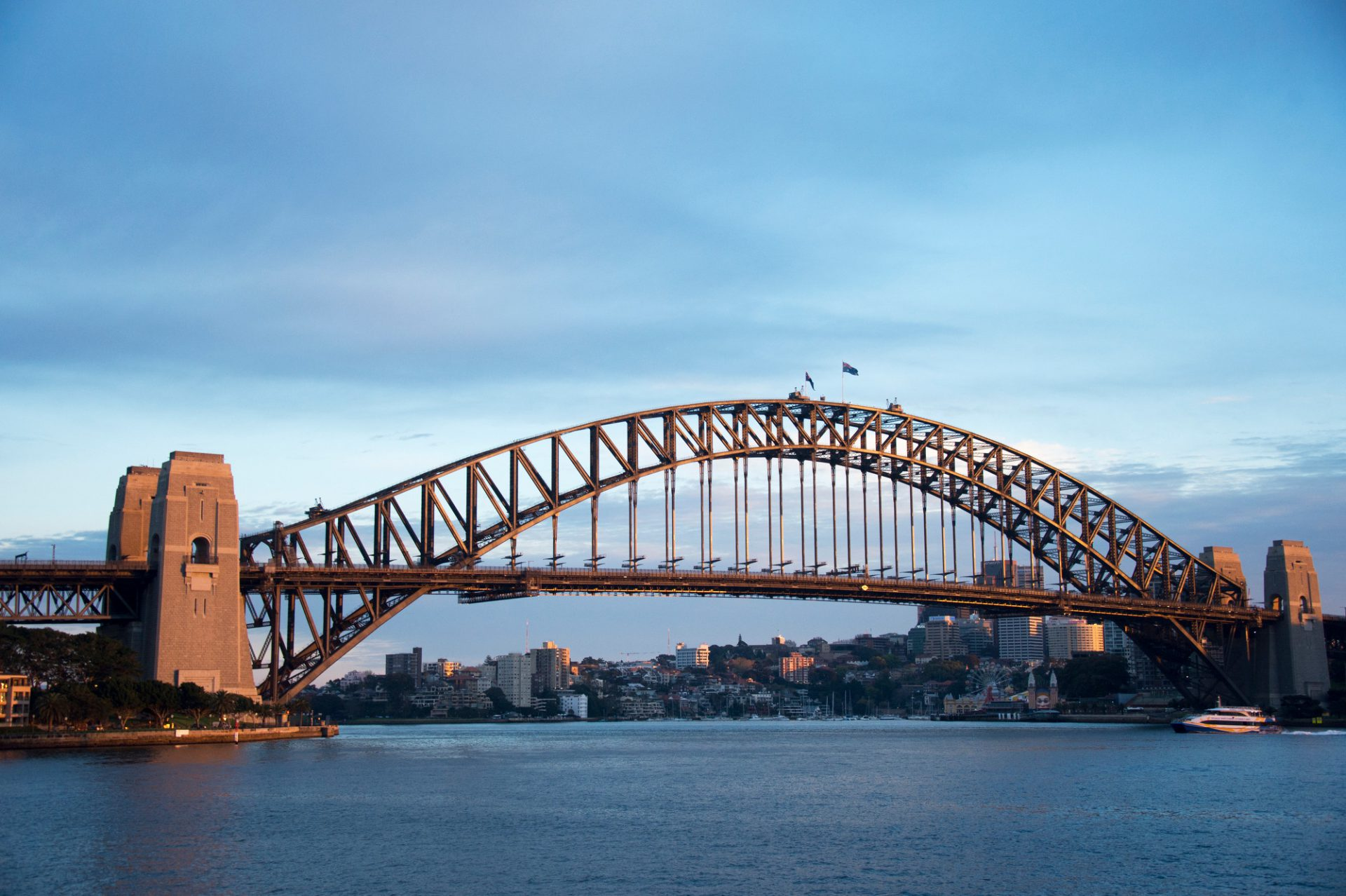 Photo: A bridge in Sydney, Australia.