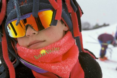 Photo: Skier in Sun Valley, Idaho.